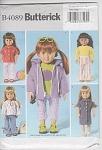 Vintage - Uncut - 18inch Doll - Wardrobe - Uncut