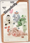 Simplicity - 5259 - Decorative Craft Clowns