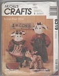 Mccalls Crafts 6319 - Cows By Faye Wine - Uncut