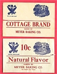 #2 Nra National Recovery Act Labels Meyer Bread