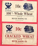#5 Nra National Recovery Act Labels Meyer Bread