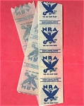 #7 Nra Fdr's National Recovery Act Bread Wrapper