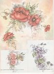 Poppies - Roses - Viiolets - Mary Lee Slocum
