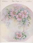 Pink Wild Roses - Wanda Clapham - Vintage - 1966