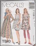 Designer Maternity Dress+ Leggings - Szs 8-12