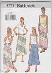 New - Butterick - Misses - Skirt Pattern - 3775 - Uncut