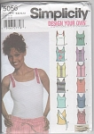 Knit Tank Tops - Design Your Own - Sz 6-12 - Oop