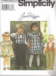 Jan Briggs Sz 2,3,4 Oop Uncut Twin Patterns