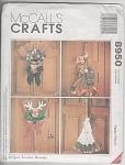 Mccalls Pattern Seasonal Broom Dolls - Uncut