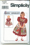 Simplicity Girls Pattern 5-8 Daisy Kingdom