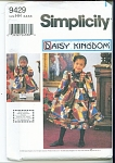 Simplicity Girls Pattern Hh