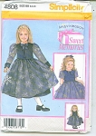 Simplicity Girls Pattern
