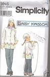 Daisy Kingdom Mother Daughter Coat Fleece