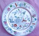 G.l. Ashworth Oriental Motif Antique Plate