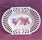 Bavaria Open Lace Edge Floral Nut Dish Bowl
