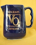Seagrams Vo Canadian Whisky Water Pitcher