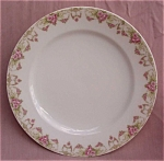 Vienna Austria Antique Roses Dinner Plate