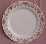 Vienna Austria Antique Roses Luncheon Plate