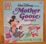 Walt Disney Presents Mother Goose Rhymes Book