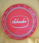 F&m Schaefer Red Beer Tray