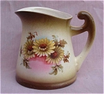 Vintage Czechoslovakia Daisy Cream Pitcher