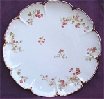 Haviland Limoges France Roses Round Platter