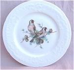 Limoges France Birds And Buds China Plate