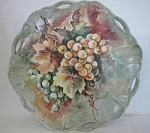 Hand Painted Grape Plate-artist Signed