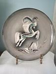 Sasha Brastoff Horse Plate