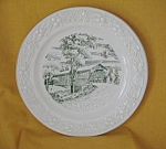 Durgins Bridge Plate No. 2 By Homer Laughlin-1957