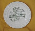 Durgins Bridge Plate No. 2 By Homer Laughlin-1957