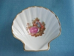 Vintage Limoges Shell Pin Dish