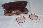 Gold Filled Eye Glasses With Case By Artcraft