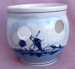 Delft Blauw Holland Blue & White Pot