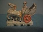 China Horse Drawn Carriage Figurine