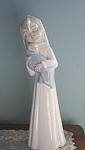 Hand Crafted Tengra Mother And Child Figurine