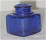 Cobalt Blue Ink Bottle