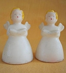 Socony Angels Singing Christmas Candles