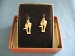 Horses Arse Pierced Earrings
