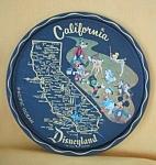 Aluminum California State Souvenir Tray