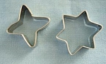 New Aluminum Star And Diamond Miniature Cookie Cutters
