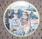 Limoges Edouard Manet L Argenteuil Plate-france