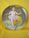 Katie The Tightrope Walker Plate-1982
