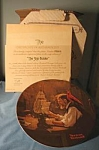 The Ship Builder Plate By Norman Rockwell