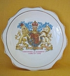 Royal Albert Coronation Queen Elizabeth Ii Plate
