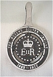 Cast Iron Queen Elizabeth Ii Trivet