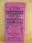 The Complete Street Guide To New York, Manhatten...