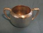 Grace Silverplated Sugar Bowl