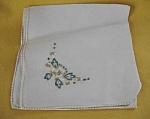 Floral Luncheon Napkins