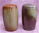 Pair Of Frankoma Salt And Pepper Shakers.